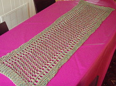 Rowan linen print shawl