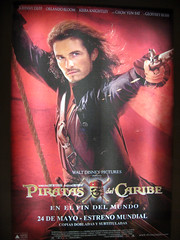 Will on Pirates 3 poster
