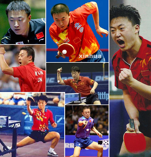 Ma Lin - currently ranked #1 as Chinese dominate the sport