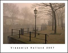 Vreeswijk Holland 2007 (buteijn) Tags: morning mist holland netherlands misty fog dorpsstraat nikon bravo utrecht mood d70s nederland vreeswijk nieuwegein dorp sluis niederlande oudesluis flickrsbest buteijn p1f1 shieldofexcellence goldenphotographer
