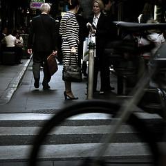 zebra (Micapixel) Tags: city people urban australia melbourne streetlife victoria zebracrossing centreplace photobymichelleleong