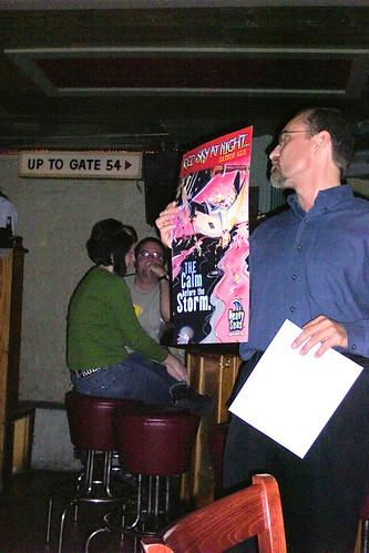 Cizauskas, as beer salesman, circa 2005
