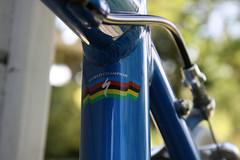 Arc-en-Ciel on my bike