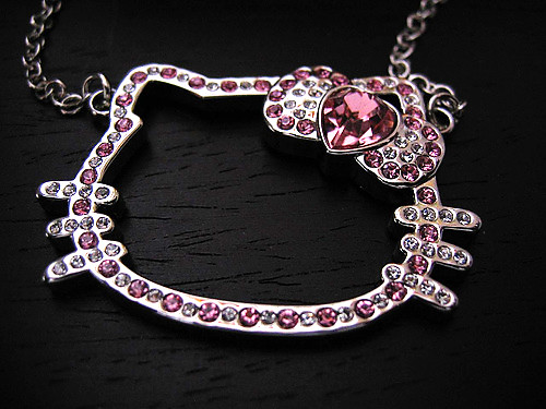 Joya Hello Kitty diamantes