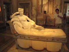 Zus van Napoleon, door Canova (Thijsb) Tags: rome canova borghese tpbfoto