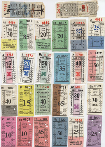Old Bus Tickets » Hardwick's