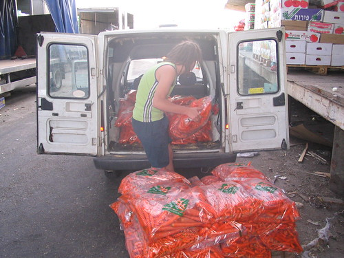 400 Kg of carrots