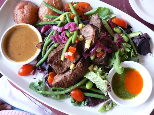 Cafe Roka - Flatiron Steak Salad