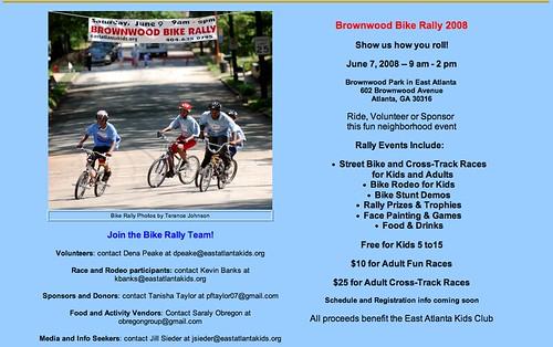 Brownwood Bike Rally 2008