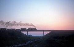 520 018  bei Müllendorf  30.07.77 (w. + h. brutzer) Tags: müllendorf 520 eisenbahn eisenbahnen train trains ungarn hungary dampfloks steam lokomotive locomotive zug gysev dampflok webru analog nikon