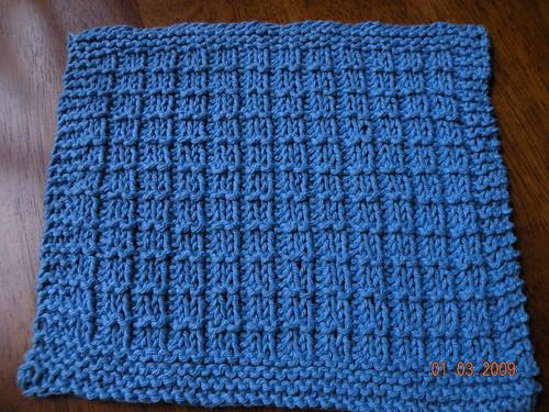 Waffle Stitch Spa Cloth Whatcha Knittin Knittinghelp Forum