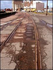 Ipswich Underground: surviving track