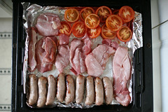 how nice am i? (lomokev) Tags: food cooking sex breakfast canon tomato eos bacon yummy heaven cook sausage meat grill pork 5d atkins yumyum fryup fullenglish breaky canoneos5d yummyyumyum filenameimg0569