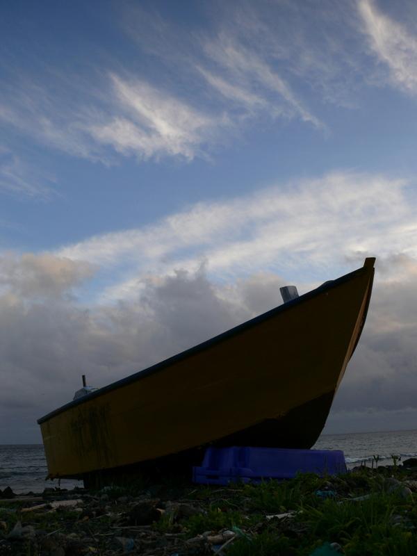 left boat