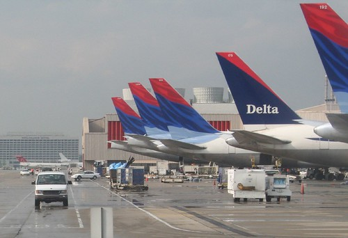 Delta planes at the terminal