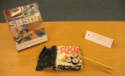 The Complete Book of Sushi edible book