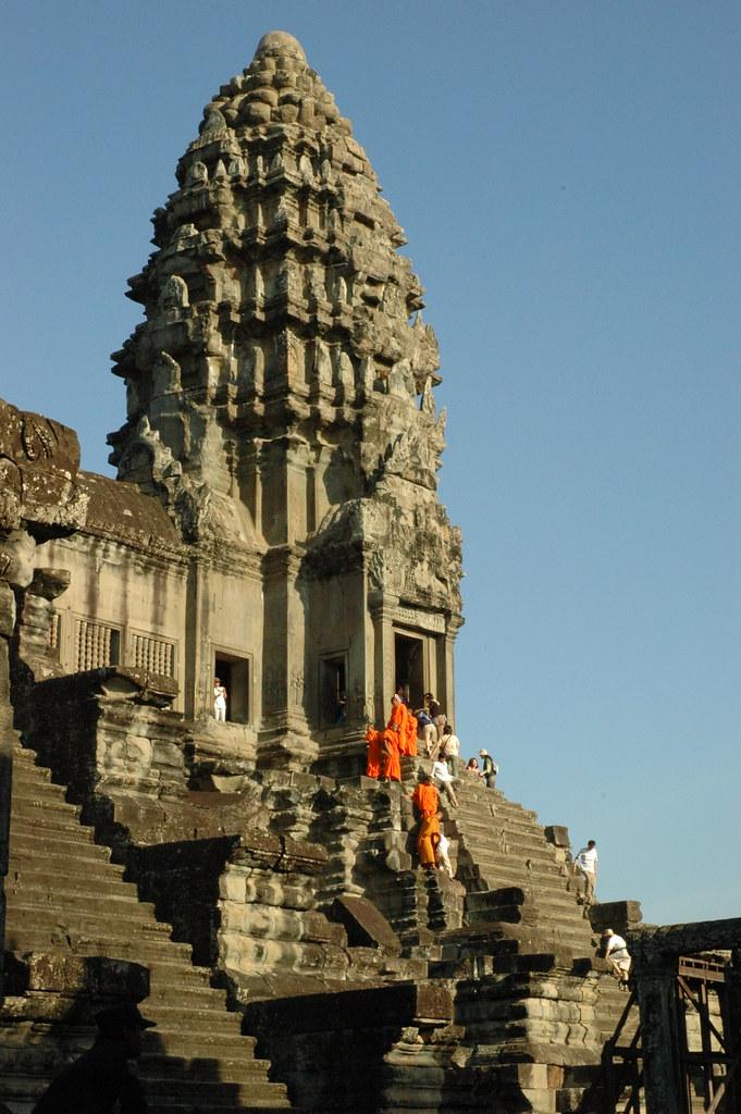 Angkor Wat, Upper level by cornstaruk, on Flickr