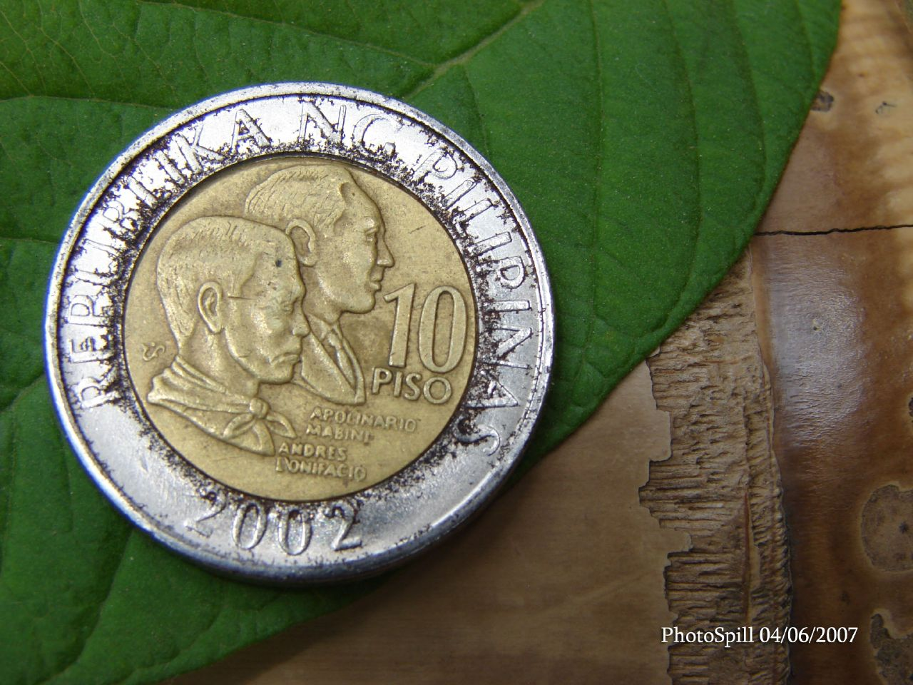 Philippine Money - Peso Coins and Banknotes: April 2007