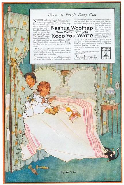Marjory C. Woodbury, Nashua Woolnap Blankets, 1919