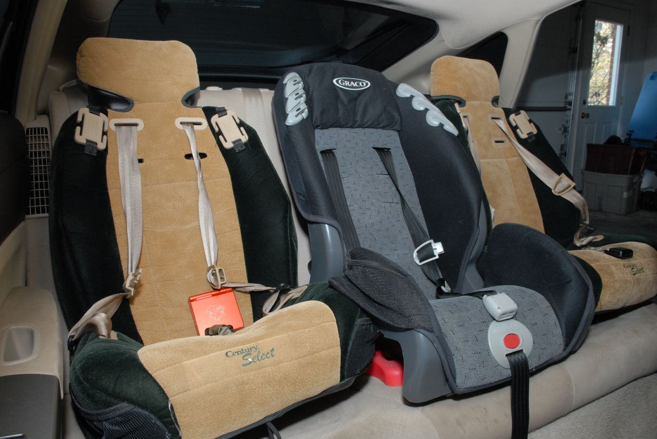 Prius Three Car Seats