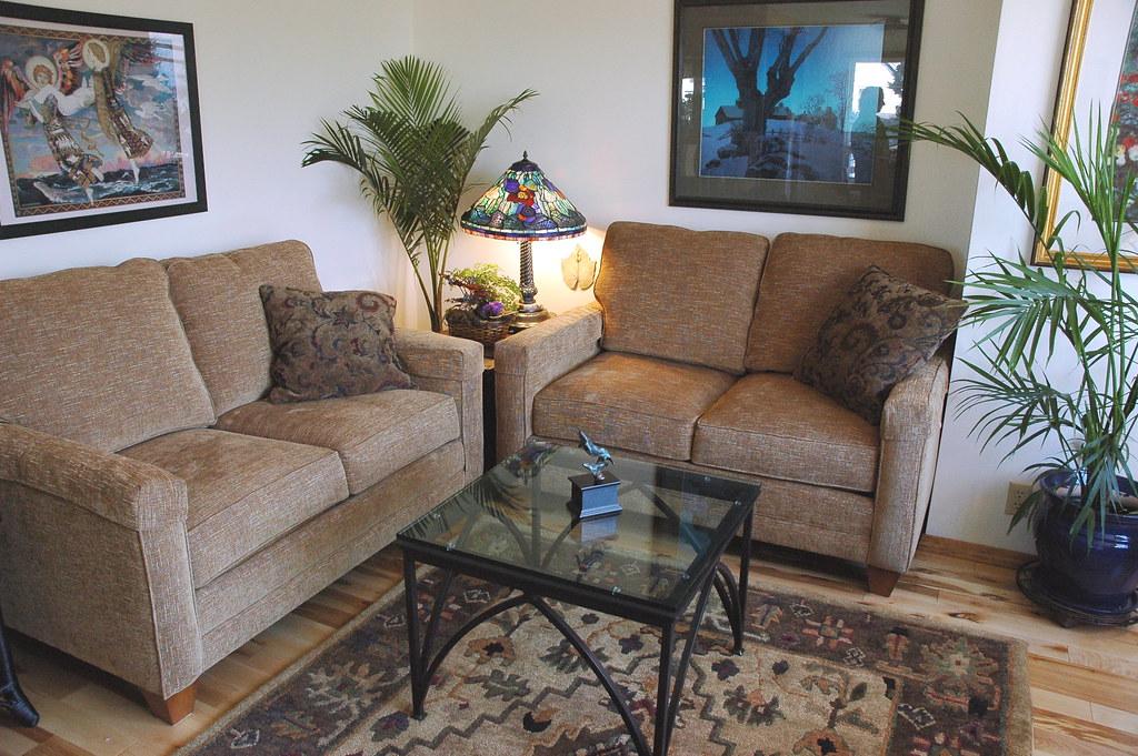 Lynne's livingroom nook makeover