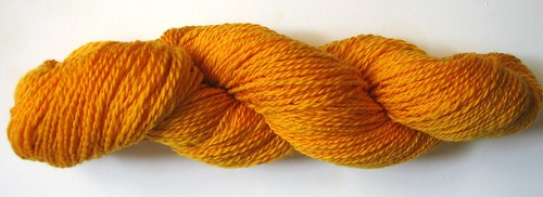 Superwash Merino Mill Ends - Yellow