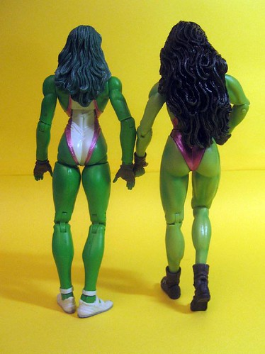 Marvel Select and Marvel Legens She-Hulk