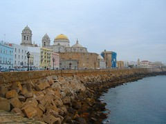 Cádiz, the waterfront - by Elena Romera