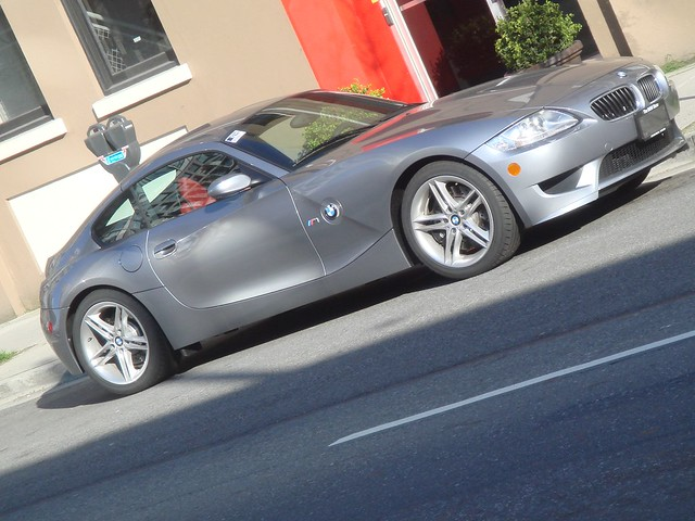 m bmw z4 coupe 2007