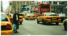 Lost in a sea of yellow (Ykmm85) Tags: nyc newyorkcity cab taxi hailing