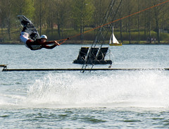Unusual Angle (david.nikonvscanon) Tags: world camera uk original england lake sport digital photoshop photography photo search saturated nikon photographer image postcard creative commons icon images photograph luck lucky pixel creativecommons saturation surprise dp milton keynes digitalphoto find stunt chromatic waterski digitalimage theworld digitalphotograph willen oneworld unusualangle 8800 aberation nikonvscanon viewtheworld davidnikonvscanon