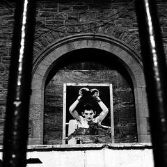 Johnny Owen & The Merthyr Miner's Hall (VEB Zardoz the Gravyboat) Tags: uk blackandwhite bw film apple monochrome wales death 50mm prime mono frozen mac noiretblanc pentax unitedkingdom britain famous cymru documentary bn mining tragedy 35mmfilm software boxer iphoto spotmatic welsh analogue boxing merthyrtydfil tragic schwarzweiss 黑白 margaretthatcher worldchampionship miners valleys classwar merthyr miningtown palabra supertakumar 白黒 worldtitle documentaryphotography primelens pentaxspotmatic welshvalleys famousboxer supertakumar50mmf14 johnnyowen johnnyowenboxer titlebout minershall miningvalleys pentaxspotmaticsp prime50mm warontheminers inhumanmonstrousevilcunt blancenegre светотенево frozenonfilm merthyrtydvil eviltories