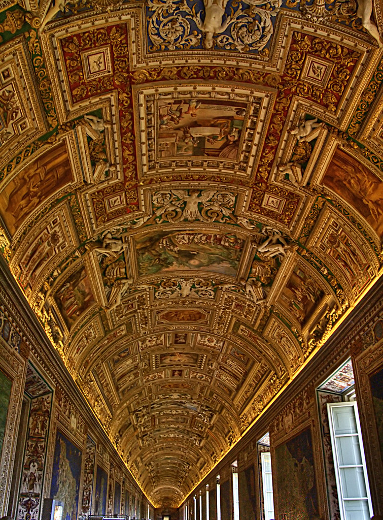 Another view inside the Vatican museum