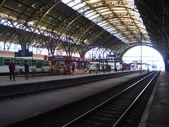 Main Train Station Prague