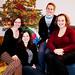 Christmas time in the Townhouse, Megan, Christi, Brandy, Lerin