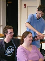 evan, laura, and dan in class (alist) Tags: cambridge student mit cambridgemass 02139 cmsmit