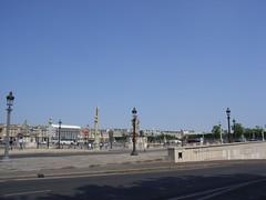 place de la concorde from southwest ((RJG)) Tags: paris placedelaconcorde cleopatrasneedle 8ème