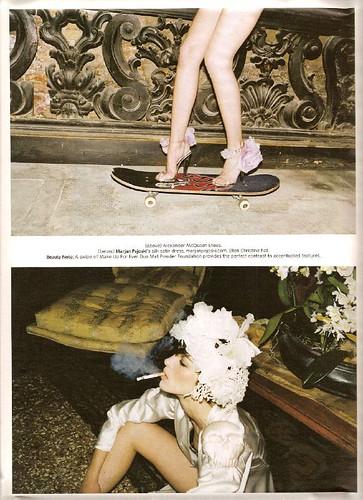 Juergen Teller for W Magazine, February 2007