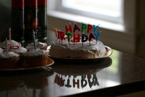 birthday baked goods