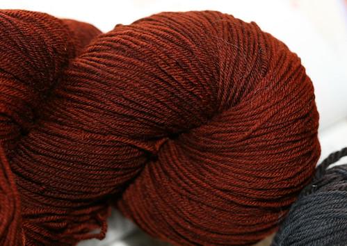 Rust Tess Yarn