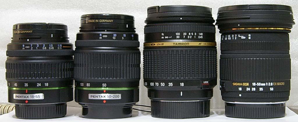 TAMRON 18-250MM VS. DA18-55mm+50-200mm