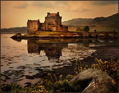 eilean donan castle (jody9) Tags: castle film mediumformat scotland highlands bravo pentax6x7 eileendonan magicdonkey outstandingshots abigfave goldenphotographer bratanesque utata:project=upfaves
