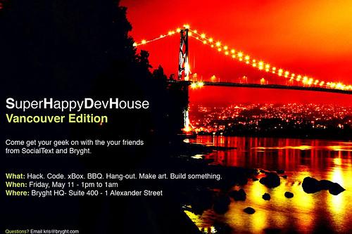 SuperHappyDevHouse - Vancouver Edition