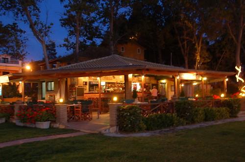 Freddie's Beach Bar at Sunset