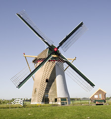 Groeneveldsemolen, Schipluiden (nr. 1111) (Ferdi's - World) Tags: mill netherlands windmill moulin molino molen zuidholland abigfave poldermolen twoudt grondzeiler ferdidegier ferdisworld muhle muhlen