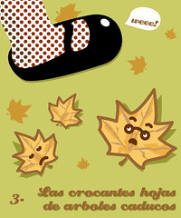 hojas secas (gervas) Tags: illustration hojas otoo draw atumn guillerminas