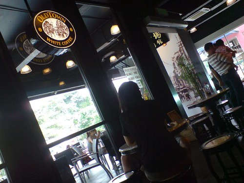 Inside Old Town White Coffee