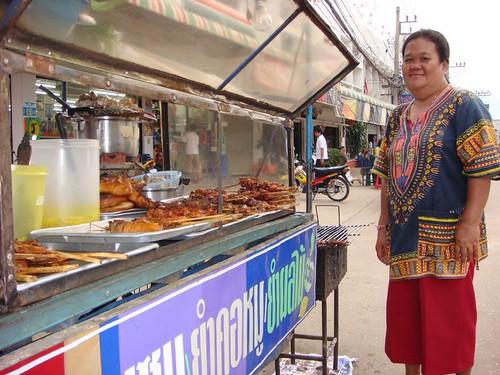 Sukhothai food stall