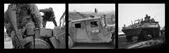 Arms and Armor Bosnia Kosovo (culturalvisions) Tags: blackandwhite army war sarajevo bosnia military refugees documentary kosovo conflict combat easterneurope triptychs formeryugoslavia friendsofbosnia centerforbalkandevelopment unitednationstroops