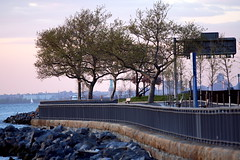 Lady Liberty and the Shore Parkway (alarichahn) Tags: newyork bay statueofliberty bayridge ladyliberty shoreparkway